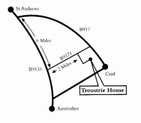 detailed map to troustrie