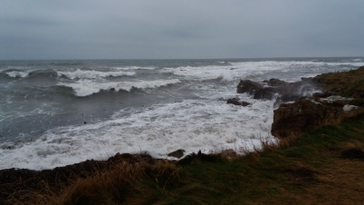 A Stormy Fife Coastal Path